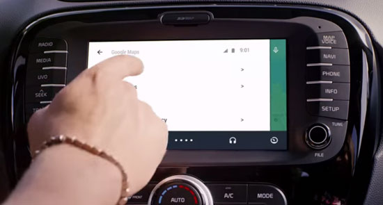 connected car android auto