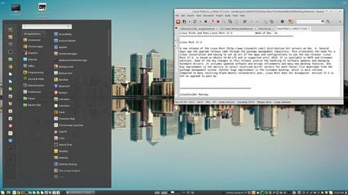 Linux Mint Upgrade Sparkles