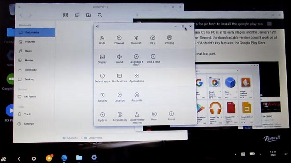 Remix OS Fills Android Desktop Void