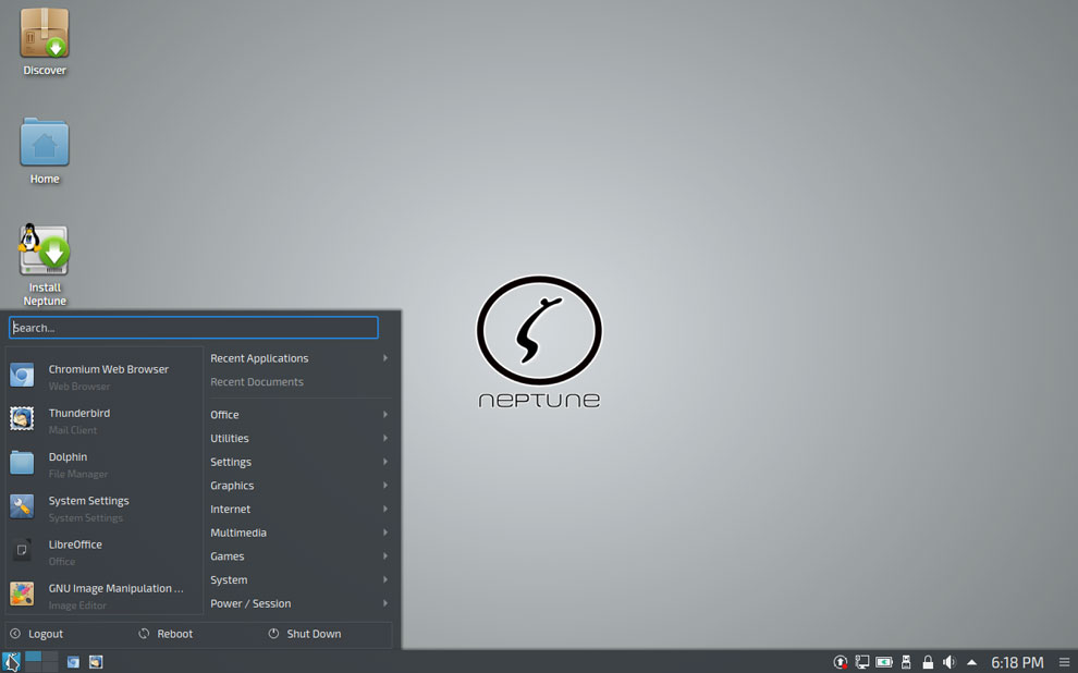 Neptune 5: A Practically Perfect Plasma-Based Distro