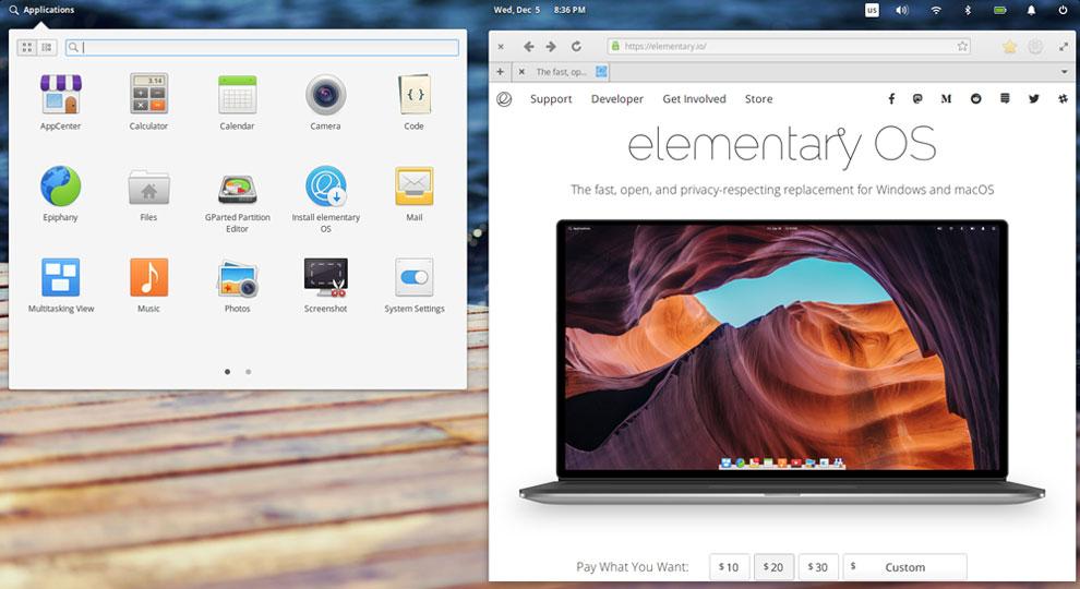 Pantheon Desktop Makes Linux Elementary