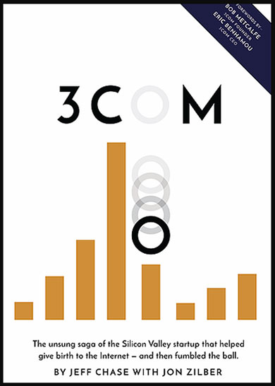 3Com by Jeff Chase with Jon Zilber, book cover