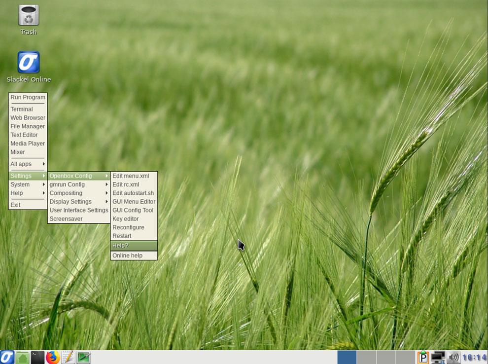 Slackel Linux Works Well Inside Its Openbox