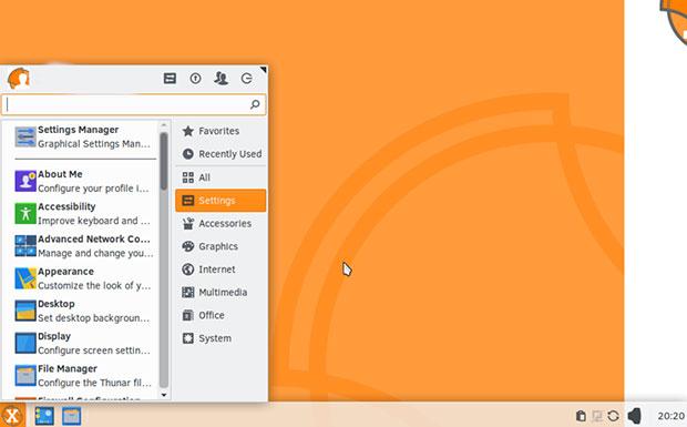 SolydXK 10 Xfce desktop edition