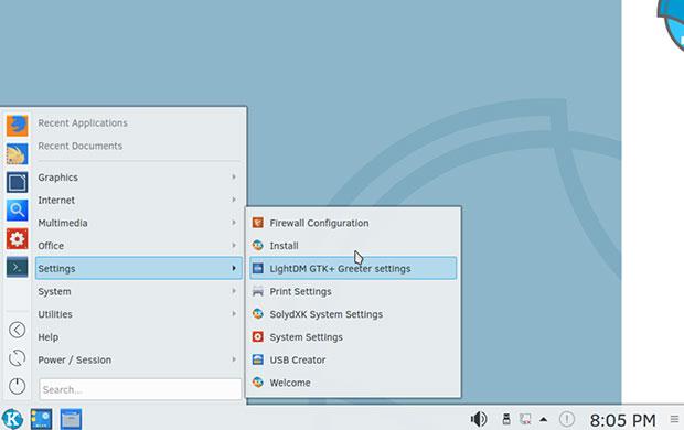 SolydXK 10 KDE Plasma desktop