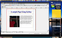 Scribus desktop publisher