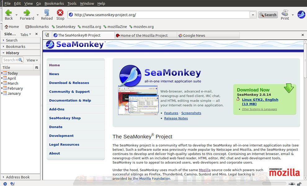 SeaMonkey: More Than Just a Firefox Clone