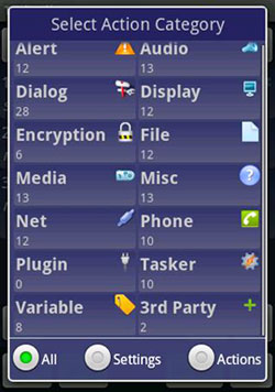 tasked /></p> <p>Want to launch a music app when you plug in your headphones, or wake up to a specific app? You can do things like this with sets of automated routines that you program via the Tasker app.</p> <p>Crafty's Tasker app automates settings on Android devices and lets you micro-manage them. Does this level of in-depth control and automation make you a control freak? Well, maybe, but programming your own device with this level of minutiae is a lot of fun.</p> <p>My first automated routine was to have the device launch the calculator when I mounted an <a class=