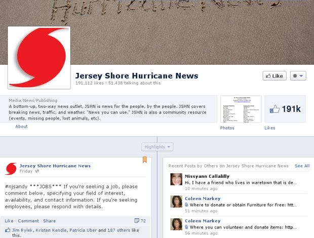 Jersey Shore Hurricane News