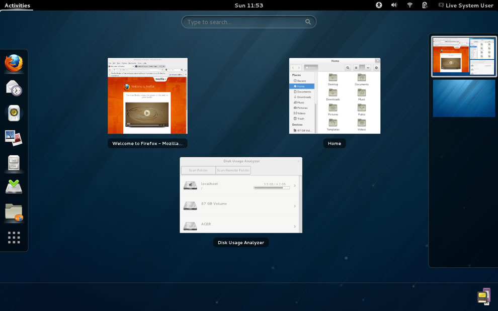 Fedora 18: Nice Tweaks to the OS, but It's Haunted by a GNOME