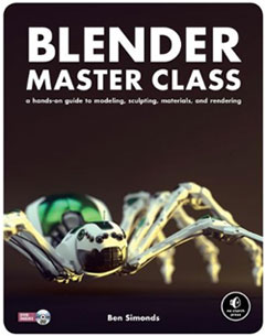 Blender Master Class' Gets A+ in 3D Graphics Instruction
