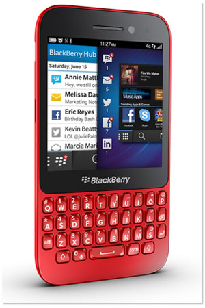 The BlackBerry Q5