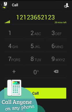 Yuilop VoIP Android app